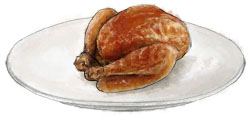 Roasted poussin by torstan