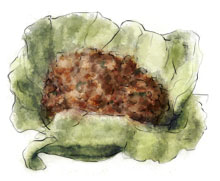 Lettuce wrap by torstan