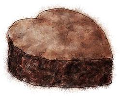 Brownie Heart by torstan