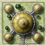 Free cathedral map tile