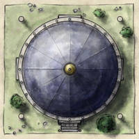 Free Temple Map Tile by torstan