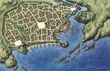 City map by torstan