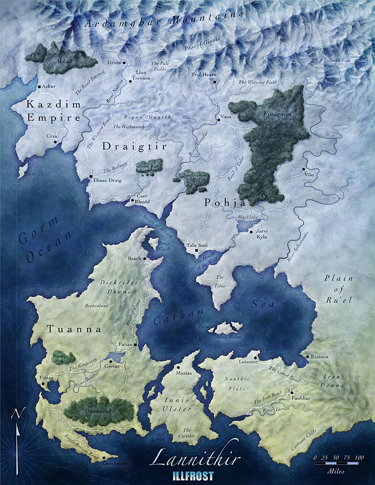 The World of Lannithir by torstan