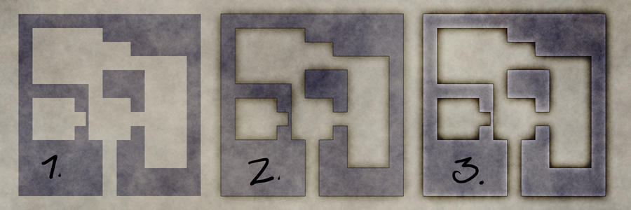 Creating quick dungeon maps with layer styles by torstan