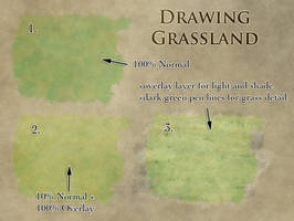 How to draw grasslands by torstan