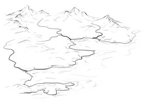 Isometric Rivers by torstan