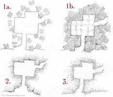 Dungeon Wall Styles by torstan