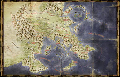The Lands of the Jade Oath
