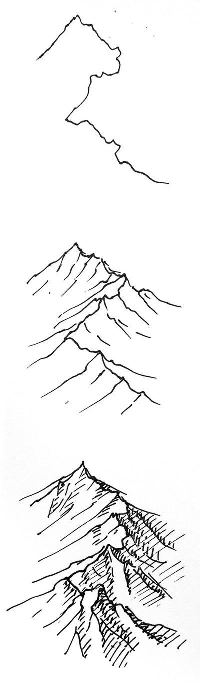 Quick Mountain Tutorial! by torstan