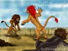 KH_Plains_Eternal_Roars_Fight by Shadowgirl89