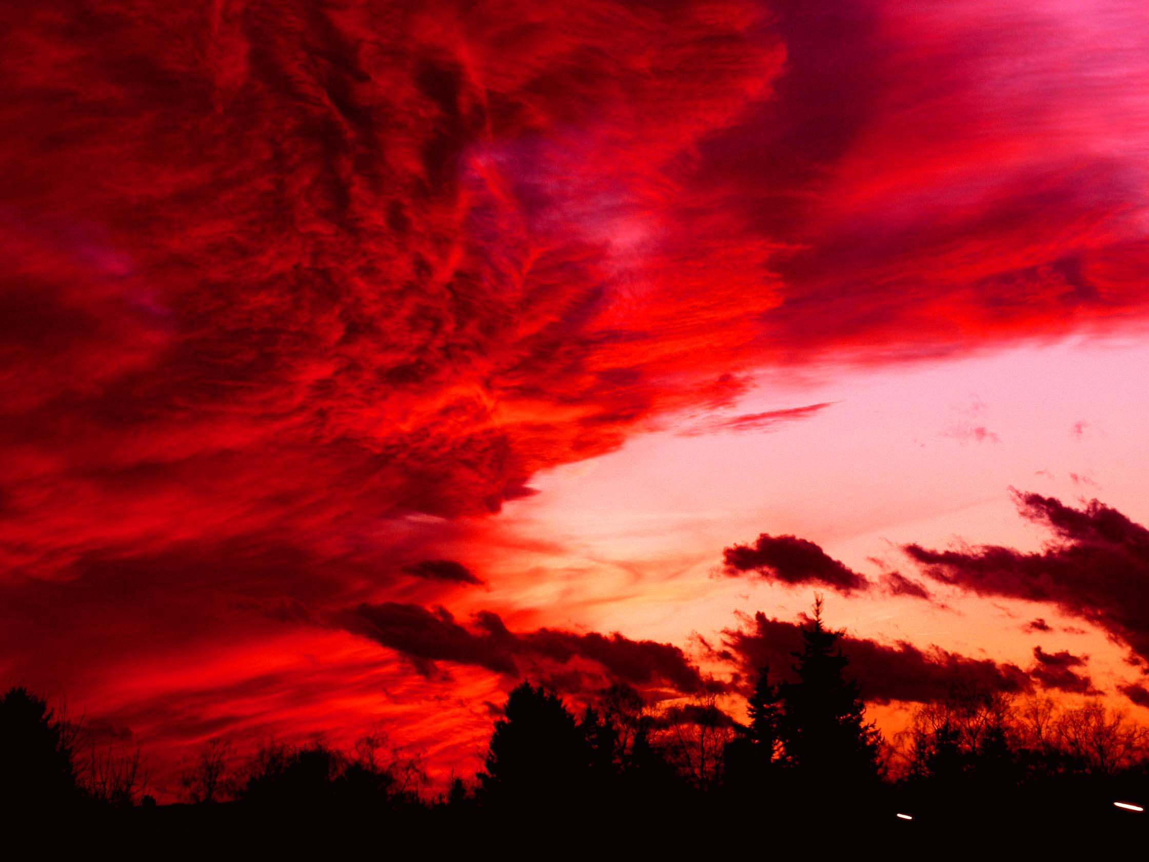 red steppe clouds - photo #41