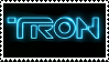 Tron Logo Stamp by raven-pryde