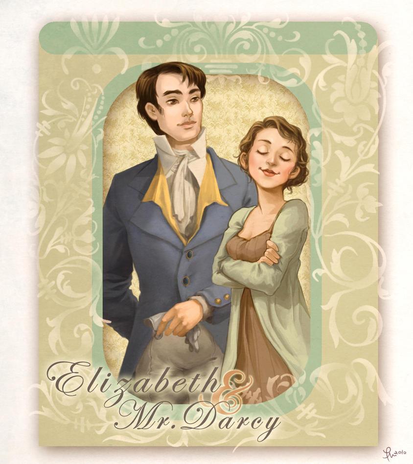 Pride n' Prejudice: Liz+Darcy by flominowa