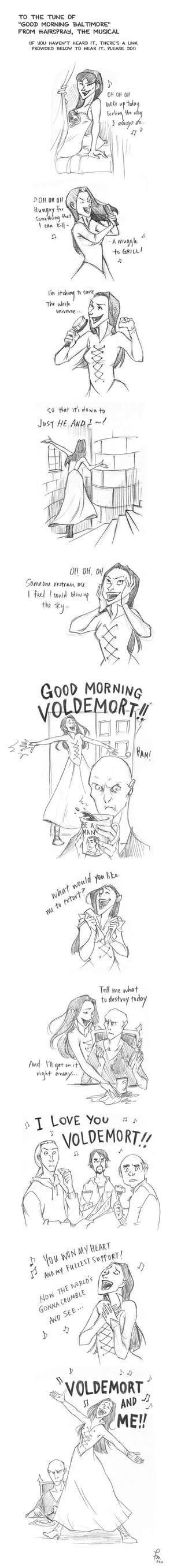 Good Morning Voldemort by flominowa