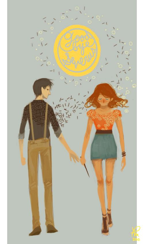 Goodbye Severus by flominowa