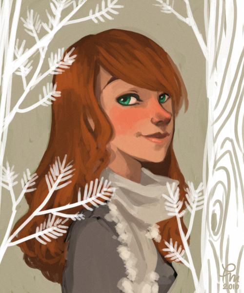 Frosty Lily by flominowa