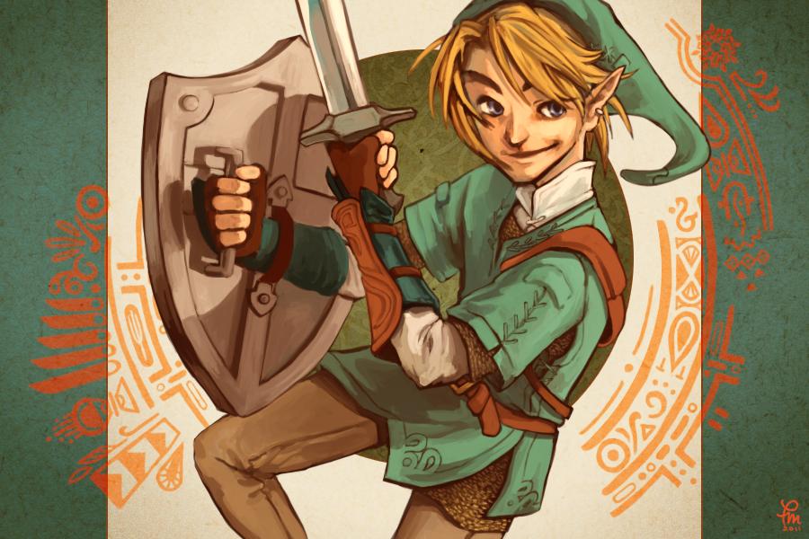 Legend of Zelda by flominowa