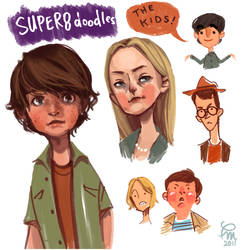 SUPER 8 doodles by flominowa