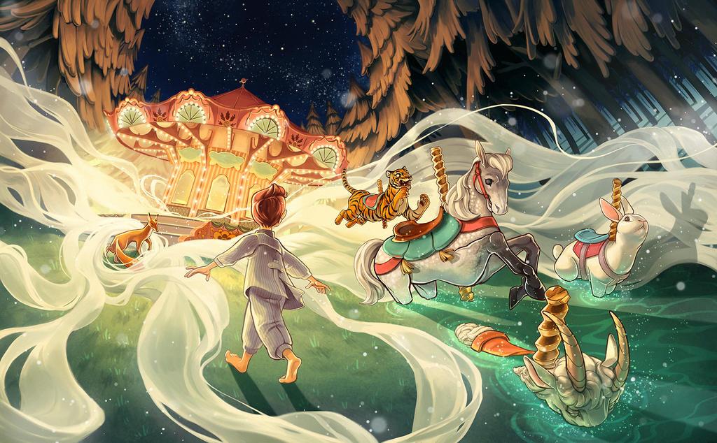 Oakley's Dream by flominowa