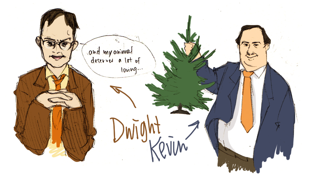 The Office Dwight And Kevin By Flominowa