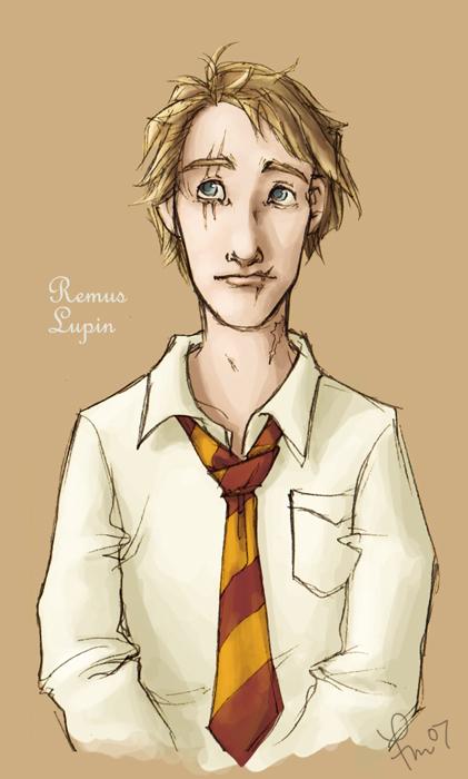 yearbook: remus lupin by flominowa