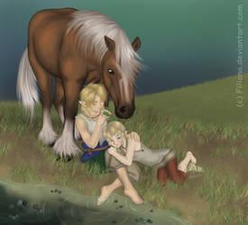 Horse call by Filiana
