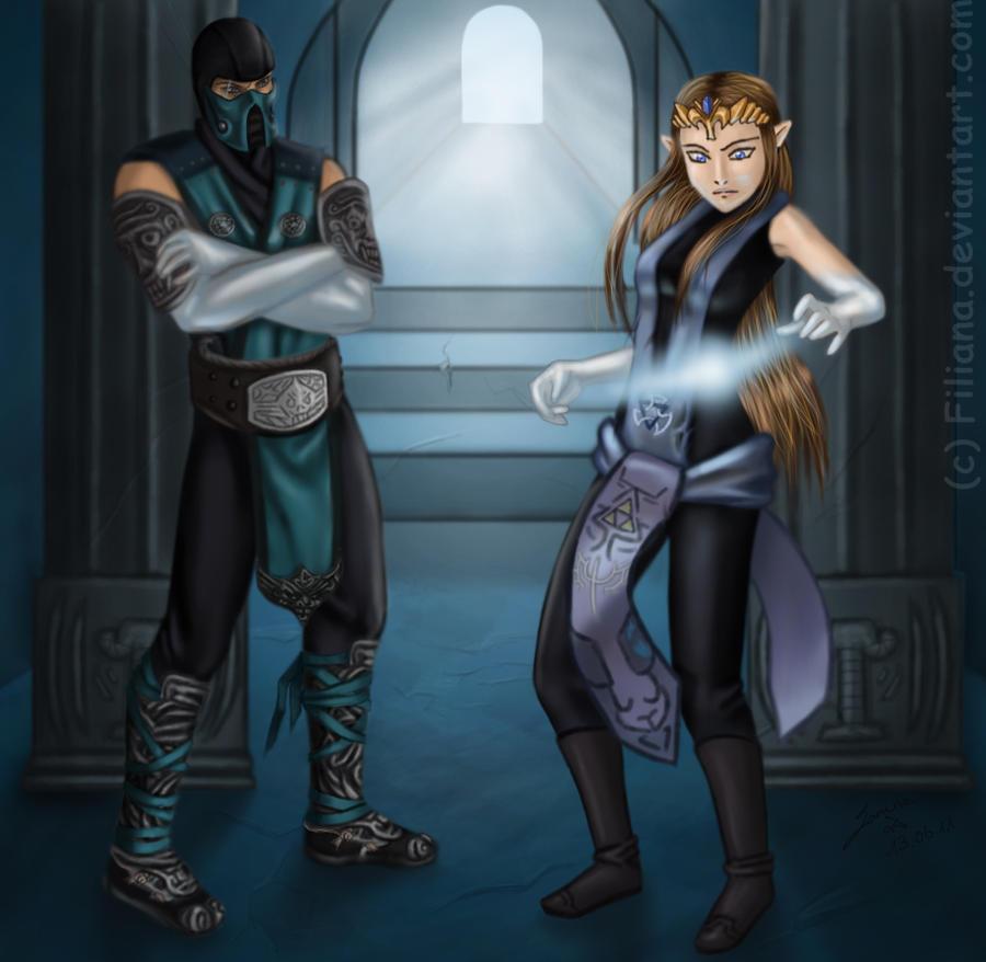 The Ninja and the Princess... by Filiana