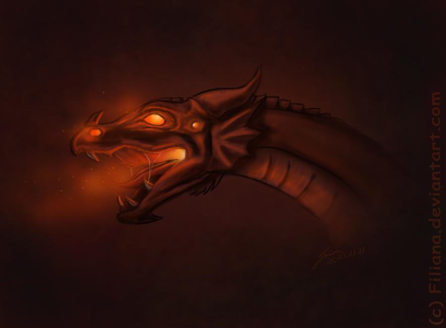 Dragon by Filiana