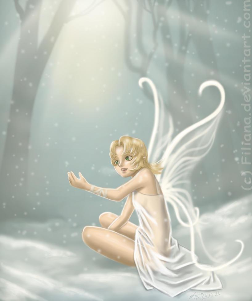 Snowfairy by Filiana