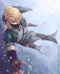 Swimming like a Zora by Filiana