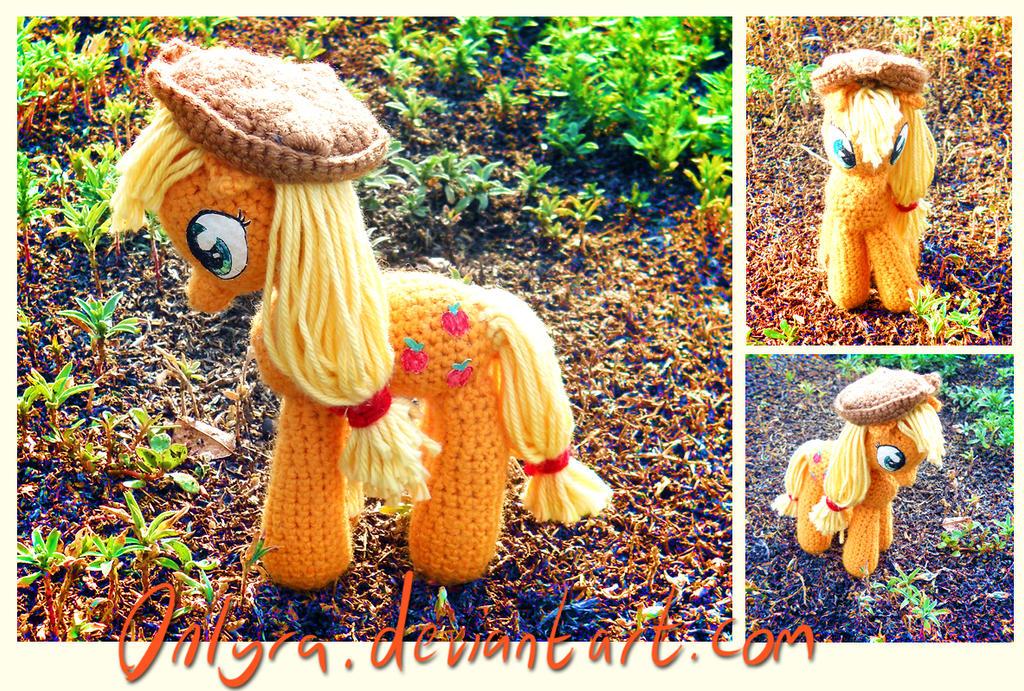 Crochet Applejack by onlyRa