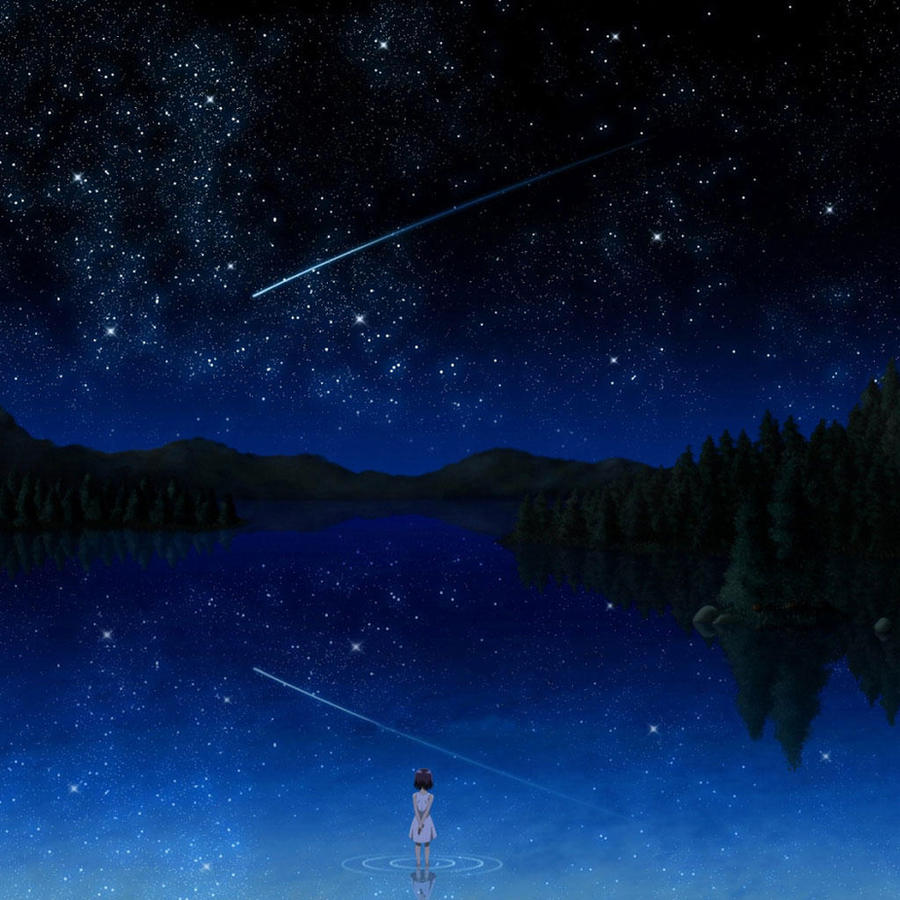 A star night by cherryfoxy69
