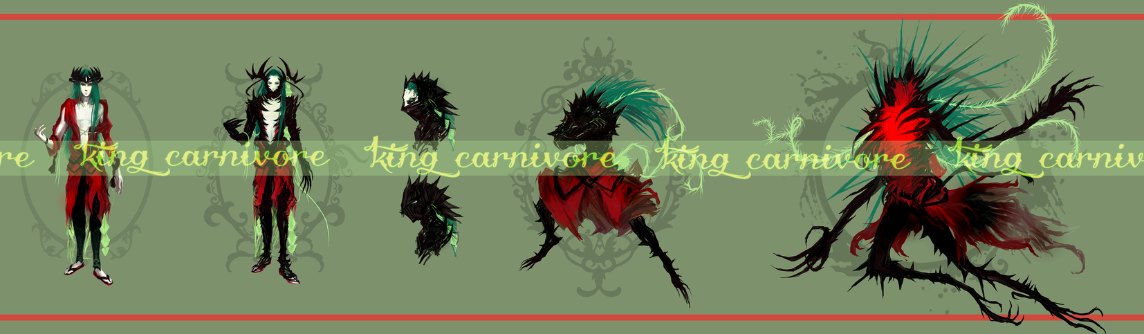 KING CARNIVORE adopt [CLOSED] by ensoul