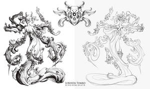 Kingdom Death monster preview - Lotus by ensoul