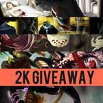 2K watchers giveaway - WINNER ANNOUNCED