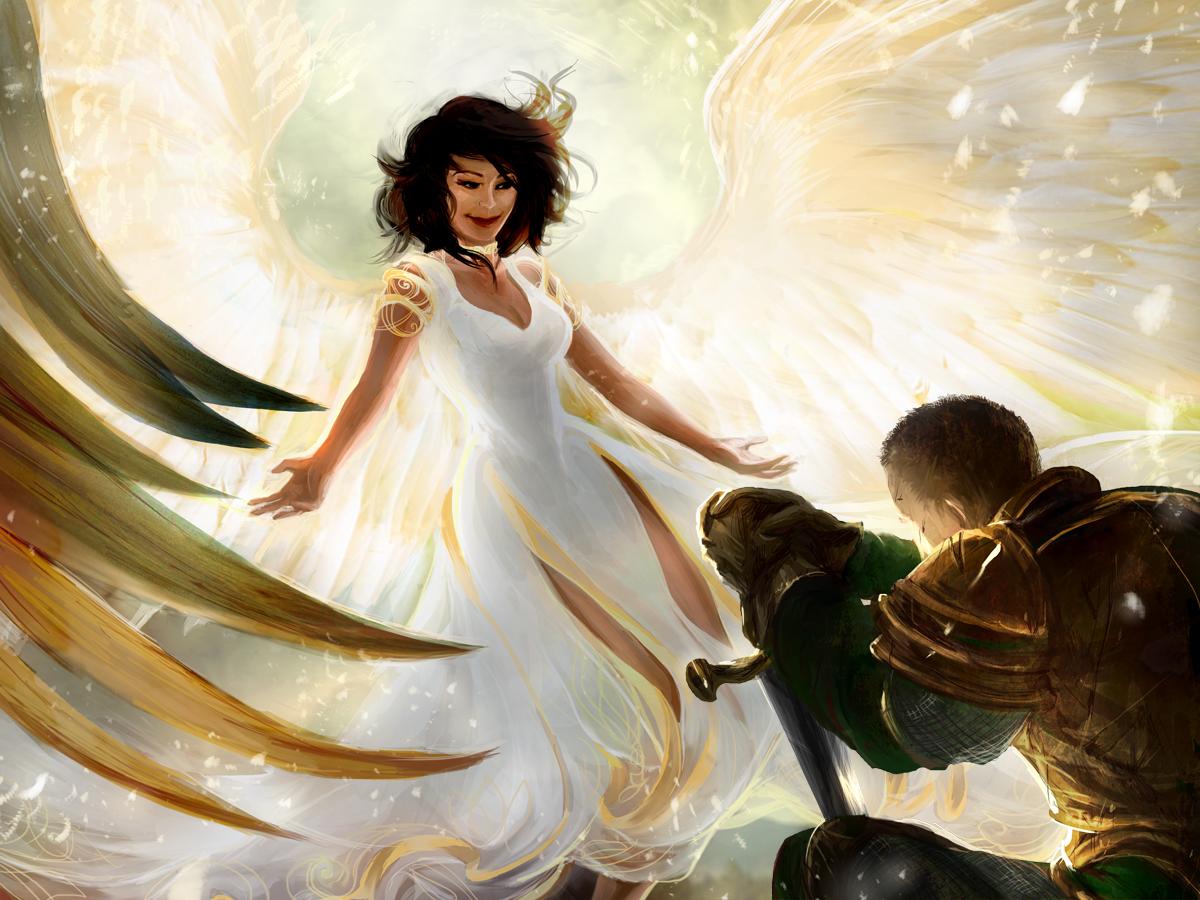 Restoration Angel (Maria) by ensoul