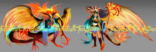 FIENDISH FENGHUANG [custom] by ensoul