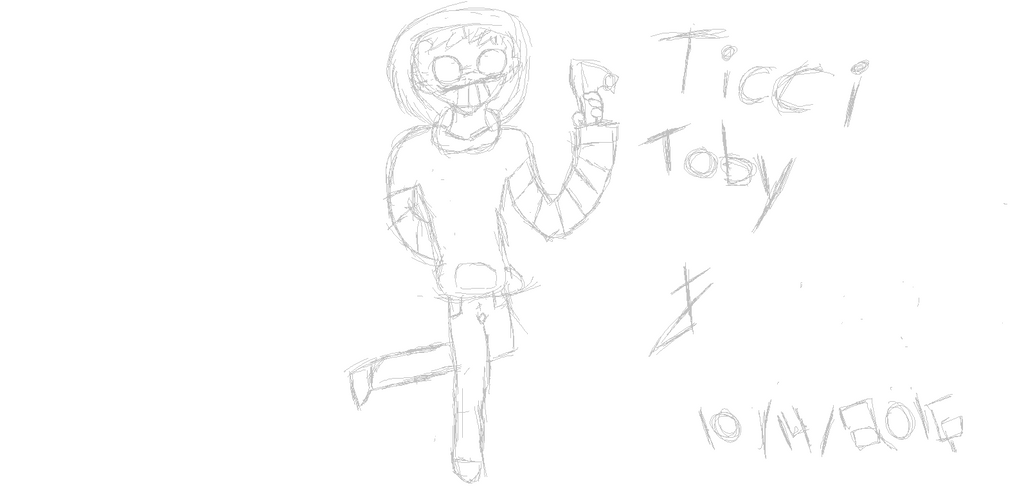 Ticci Toby by CrypticalSunrise