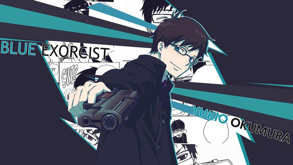 Yukio Okumura Wallpaper Manga Version By Nisa Niisan