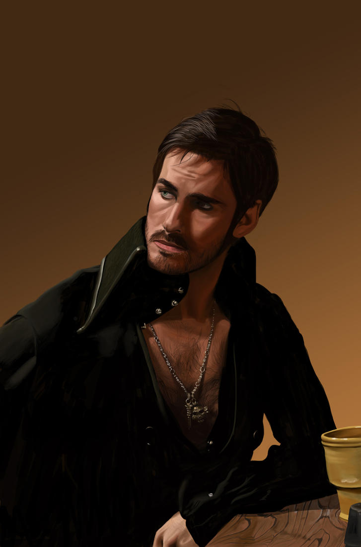 Captain Hook by MagykDisneyRide
