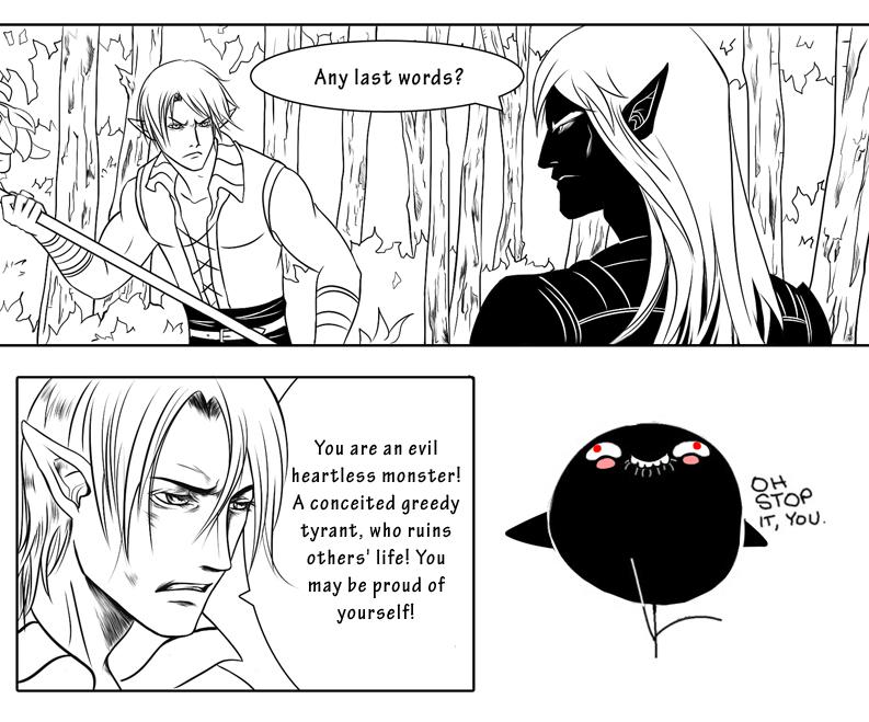 Sweet compliments by Azzedar-san