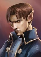 Look into my eyes by Azzedar-san