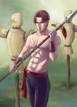 Training by Azzedar-san