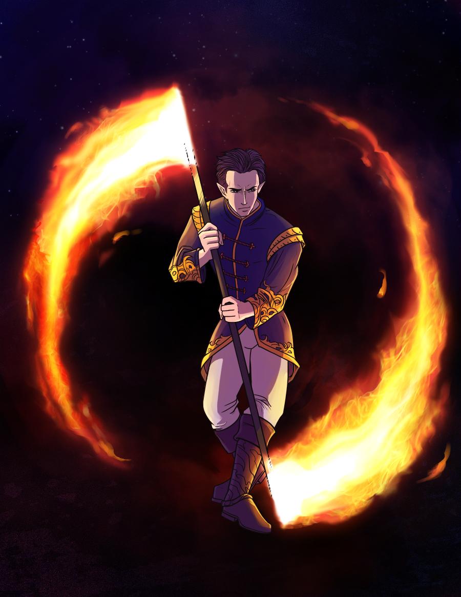 Firedance by Azzedar-san