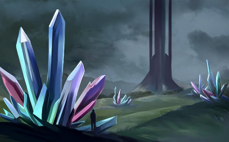 Crystals by Azzedar-san