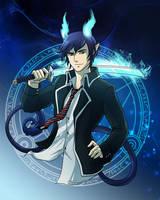 Blue Exorcist by Azzedar-san