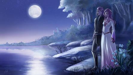 Lunar Elves by Azzedar-san