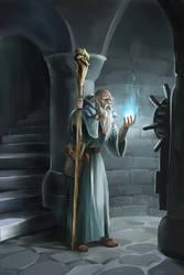 Old sorcerer by Azzedar-san