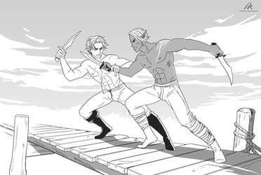 Duel by Azzedar-san