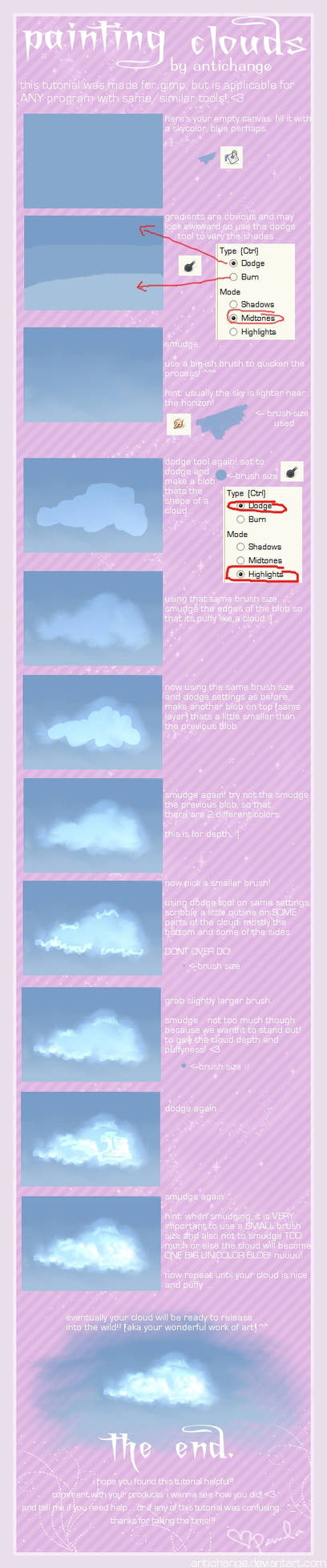 Tutorial. Painting Clouds.